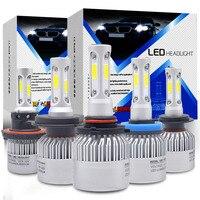 72W 8000LM Car Headlight H7 Led H4 H11 H8 9006 9005 LED Bulbs 6500k Chips CSP