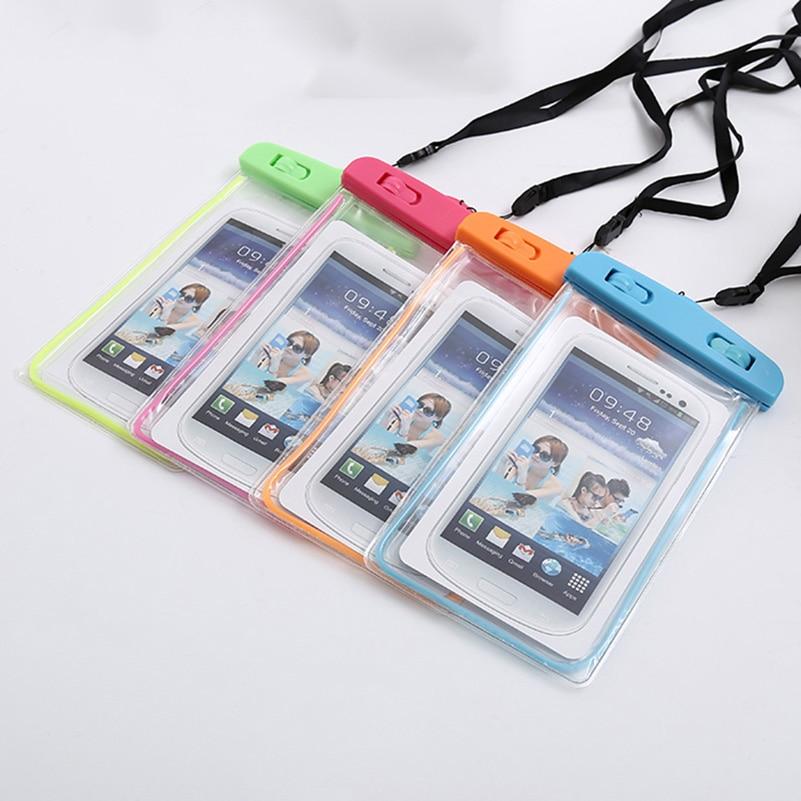 Universal Waterproof Phone Pouch For Samsung Galaxy Core Plus G350 G3500 G3508 G3502U SM-G350 G3509 /Trend 3 G3502 Case