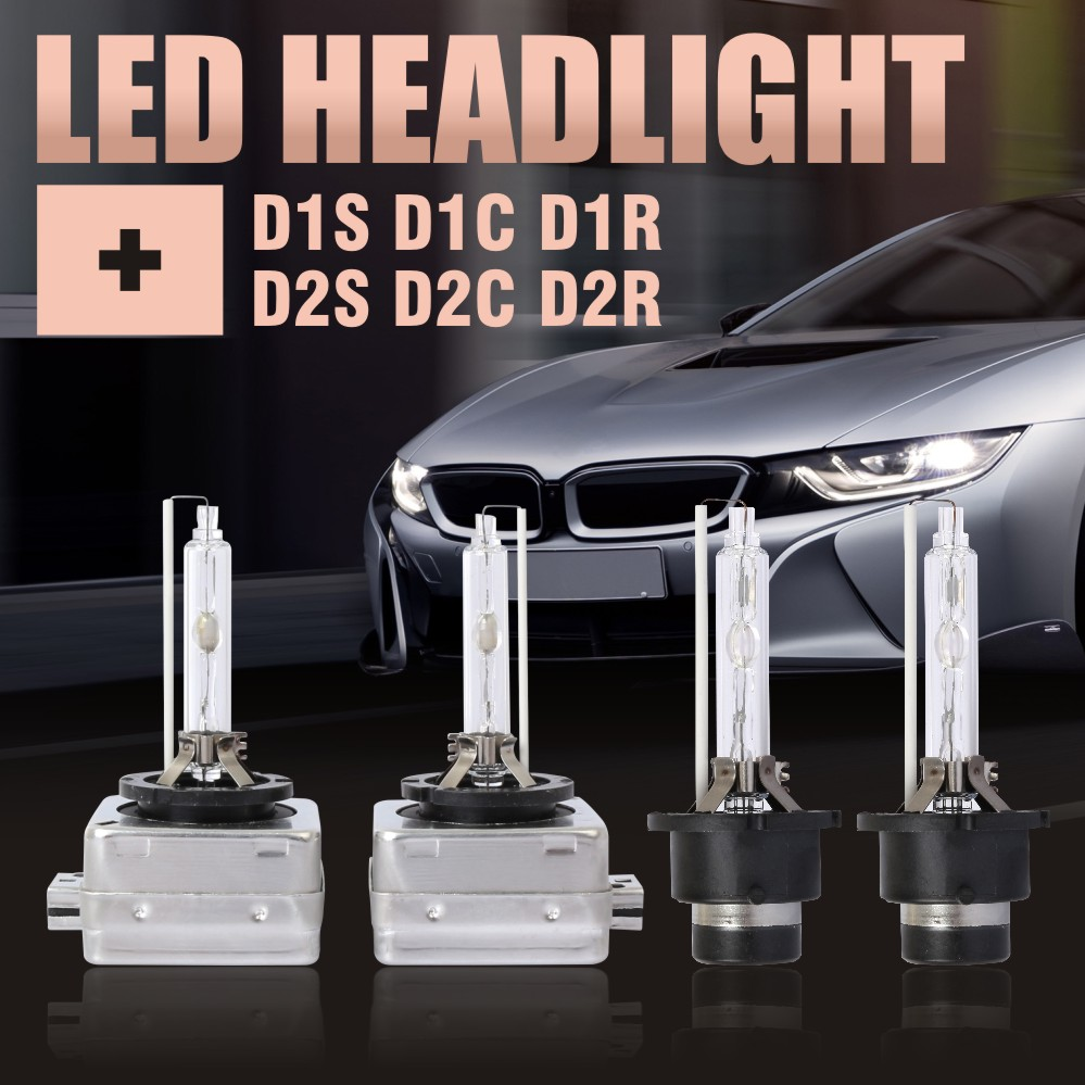 DIC 2pcs 12V 35W D1S D1C Xenon HID Bulbs D2S Headlights replacement lamp Auto car