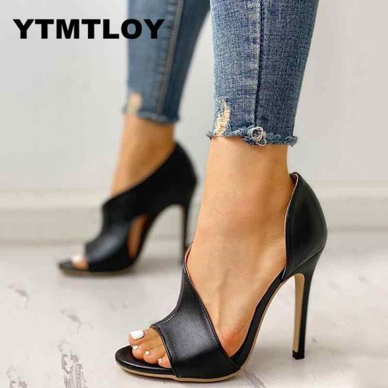 2019 נשים משאבות נעליים חדשות סקסי עקבים גבוהים גבירותיי מפלגה פגיון ומגדילים נקבה כסף חתונה נחש הדפסת עקבים Zapatos