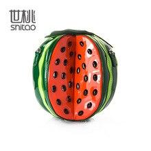 18.5x20CM Very unusual Creative Delicate Fruit Bag Watermelon Bag Circular Fashion Female Bag Handbag   A2442