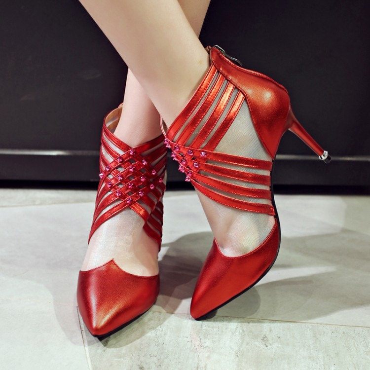 2017 Promotion Real Sapato Feminino Tenis Feminino Big Size 34- 43 Shoes Sandals Ladies Lady Fashion High Heel Women Pumps 8905 2017 real top cover heel open casual sapato feminino melissa genuine big size retro solid square heel shoes woman ladies womens