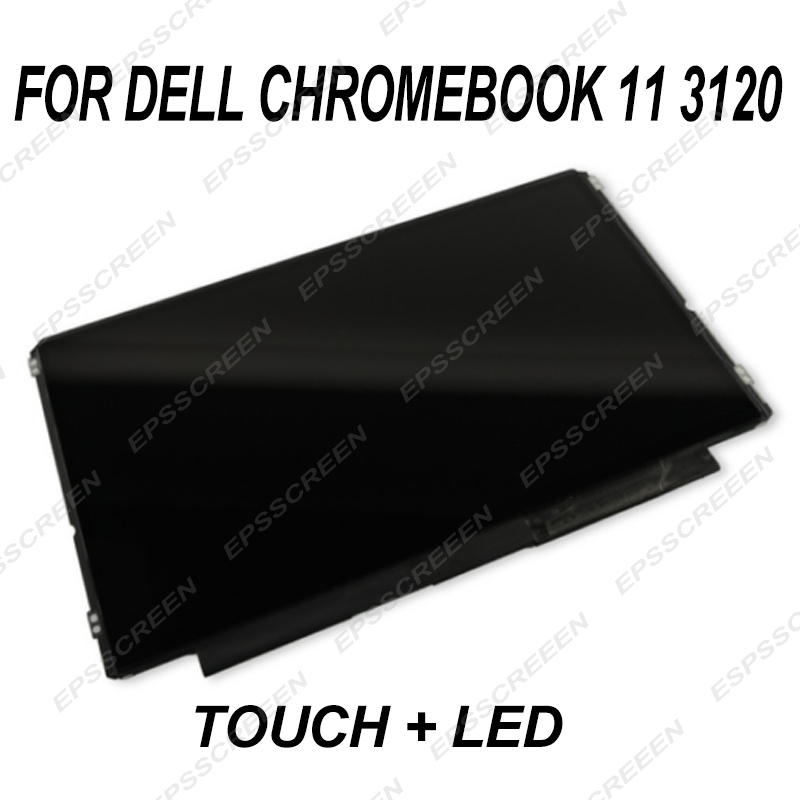 replace digitizer panel 11.6 for DELL Chromebook 11 3120 touch screen with LED/ LCD display educational notebook panel student