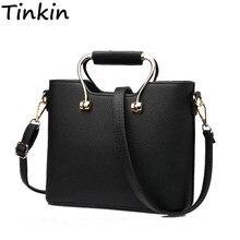 Tinkin Pu leahther Frauen Handtasche Mode Weibliche Umhängetasche Multifunktions Frauen Tote Mädchen Täglichen Umhängetasche