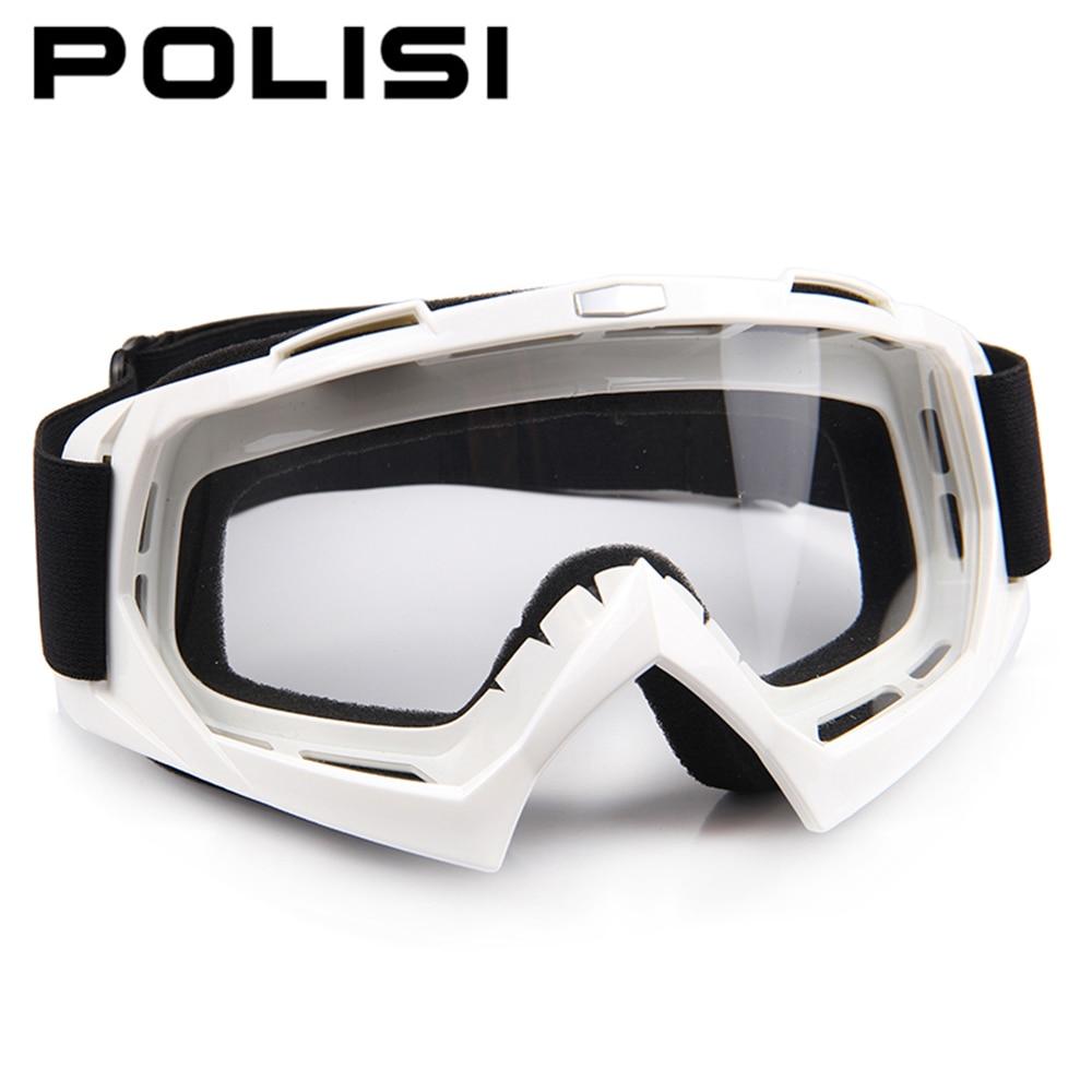 POLISI Motorcycle Dustproof Glasses Motocross Off Road Dirt Bike Downhill Racing Goggles UV Protection font b