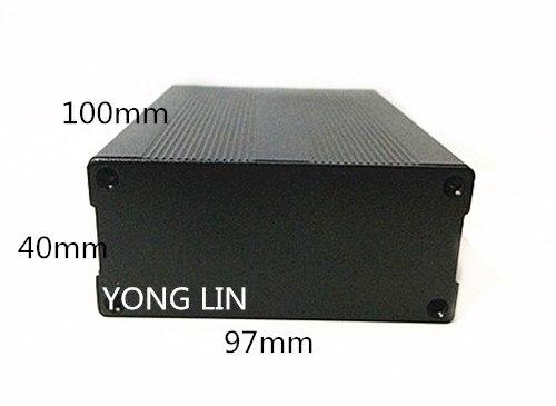 Caixa de Alumínio Shell de Carvão Caixa de Junção Caixa de 97*40-100mm de Alumínio Elétrica Shell Pcb 10 Pcs –