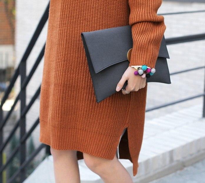 Kpop мода жени плик сцепление чанта - Дамски чанти - Снимка 2