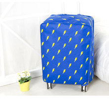 Blitz Muster Gepäck Abdeckung für 20 zoll-28 zoll Koffer Schutzabdeckungen Staubschutz Reise Zubehör