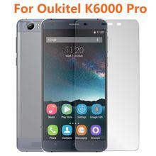 Shuica 2 oukitel k6000 pro película de vidro temperado 9h, protetor de tela à prova de explosão para oukitel k6000 k6000pro