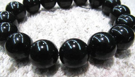 bulk 12mm 5strands agate bead round ball black jet smooth jewelry beads 16/Lbulk 12mm 5strands agate bead round ball black jet smooth jewelry beads 16/L