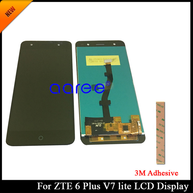 US $18 8 |100% tested Grade AAA LCD Display For ZTE Blade V6 Plus LCD For  ZTE V6 Plus V7 Lite LCD Screen Touch Digitizer Assembly -in Mobile Phone