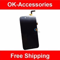 High Quality For Archos 50 Platinum LCD Display Touch Screen Digitizer Black Color 1PC Lot Free