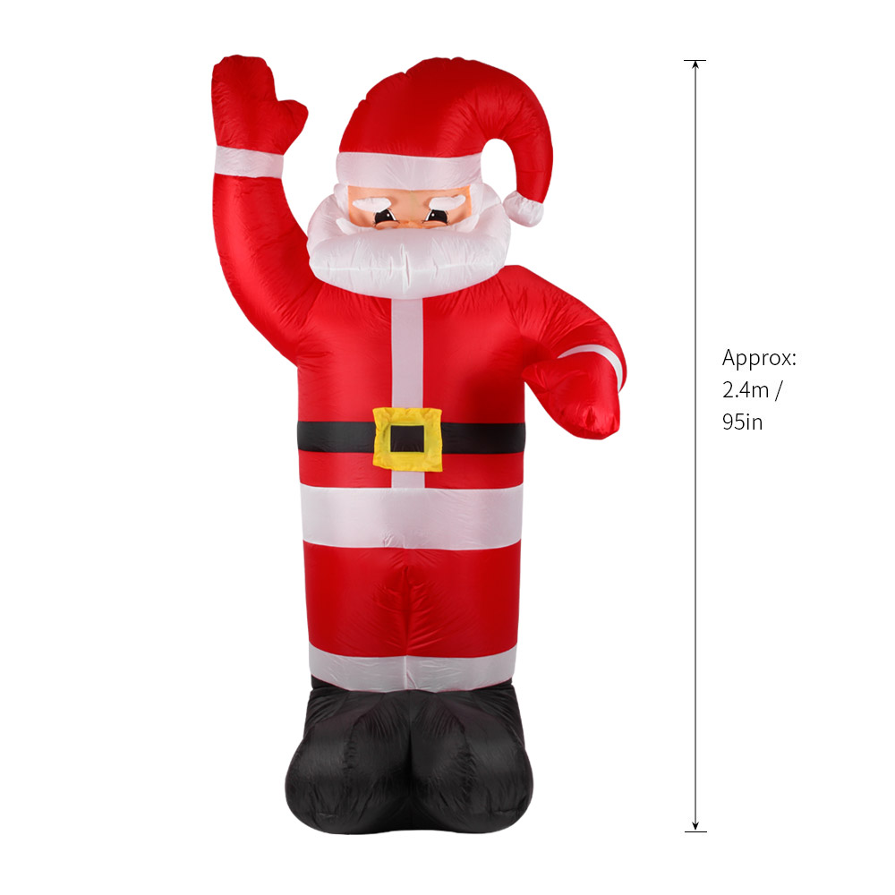 Aliexpress.com : Buy 2.4m Tall Inflatable Christmas Santa Claus ...