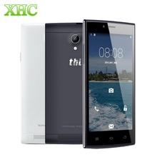 """Ursprüngliche THL T6C 5,0 """"Android 5,1 Lutscher Smartphone MTK6580 Quad Core 1,3 GHz RAM 1G ROM 8G WCDMA 3G Handy Tropfen Shiping"""
