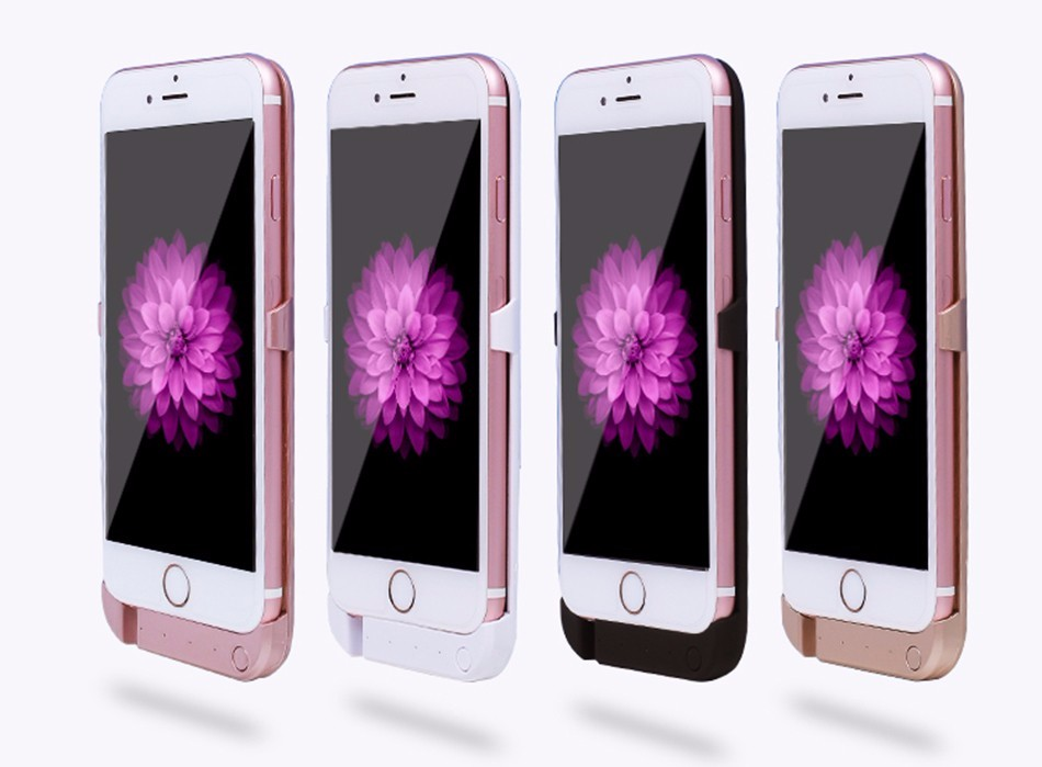 """imágenes para 10000 mAh Caja de Batería Externa Cargador Portátil Cargador de Backup Power Bank Batería Recargable cajas del teléfono para el iphone 6 6 s 4.7"""""""