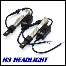 Nuevo Diseño de la lámpara Auto de la niebla H3 H1 LLEVÓ la linterna del cree chips MZ llevó la linterna H1 H3 led para todos los vehículos H3 LED headlight 40 W 5000LM