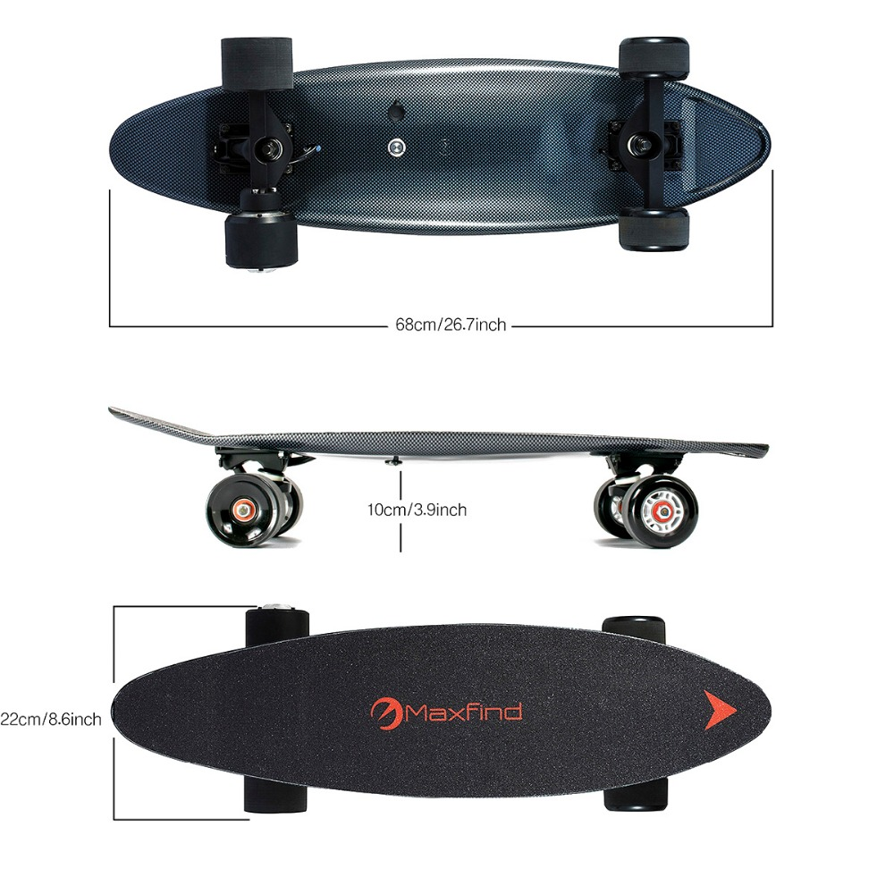 Жаңа 27 дюйм Retro Classic Cruiser Style Skateboard - Роликтер, скейтбордтар және скутерлер - фото 2