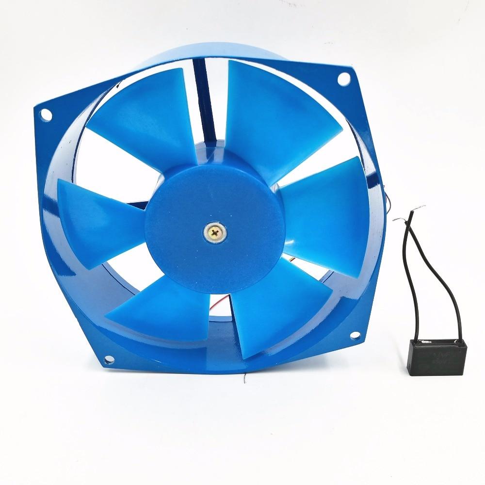 200FZY7-D axial fan blower cooling fan aluminum case 380V 65W 0.18A 220v ac 65w 0 3a 200 210 71mm low noise cooling radiator axial centrifugal air fan blower 200fzy2 d axial flow cooling fan