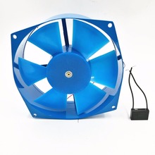 200FZY7-D axial fan blower cooling fan aluminum case 380V 65W 0.18A 380v ac 65w 0 16a 200 210 71mm low noise cooling radiator axial centrifugal air fan blower cooling device 200fzy4 d