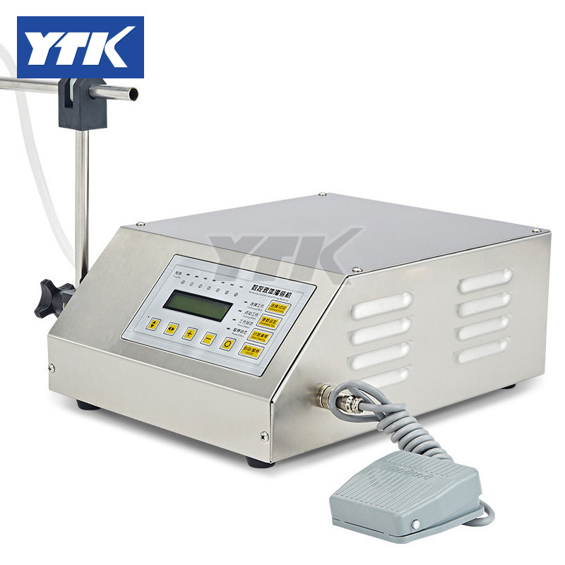 YTK 3-3000ml Water Softdrink Liquid Filling Machine Digital Control GFK160