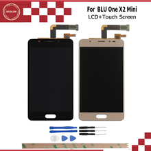 Android 6.0 For Blu Life One X2 Mini LCD Display and Touch Screen Original Screen Digitizer Assembly 5.0 inch +Tools + Adhesive
