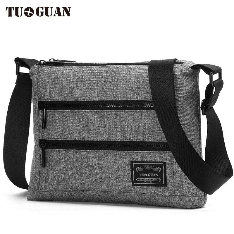 2017 New Fashion TUGUAN Brand Designer Men Messenger Bags Korean Style Unisex Women Cross Body Shoulder Bags for A4 Documents