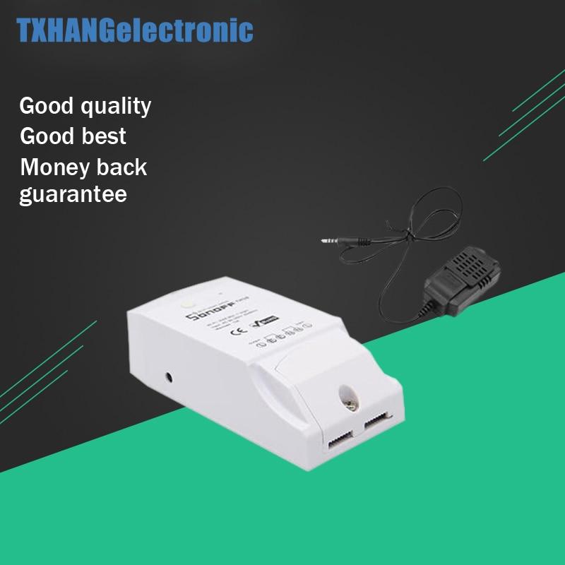 Sonoff TH16 DIY 16A 3500W WiFi Smart Switch Temperature Humidity Sensor Smart Home Remote controller