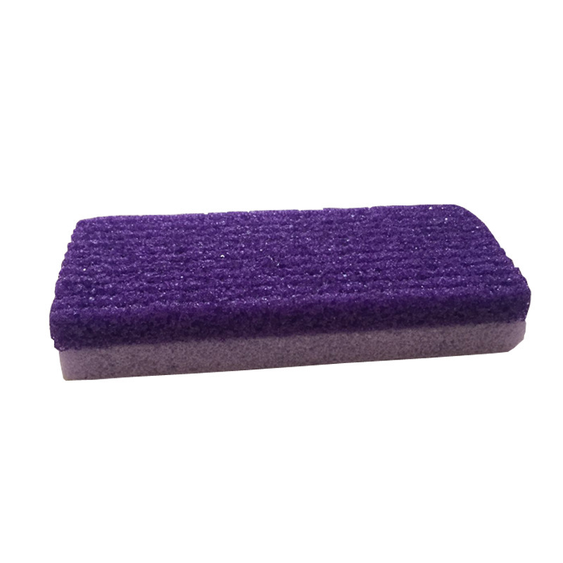 1PC Foot Care Exfoliator Pedicure Tool Pumice Stone Foot Care Scrub Dead Hard Skin Remover Cleaner Purple Color
