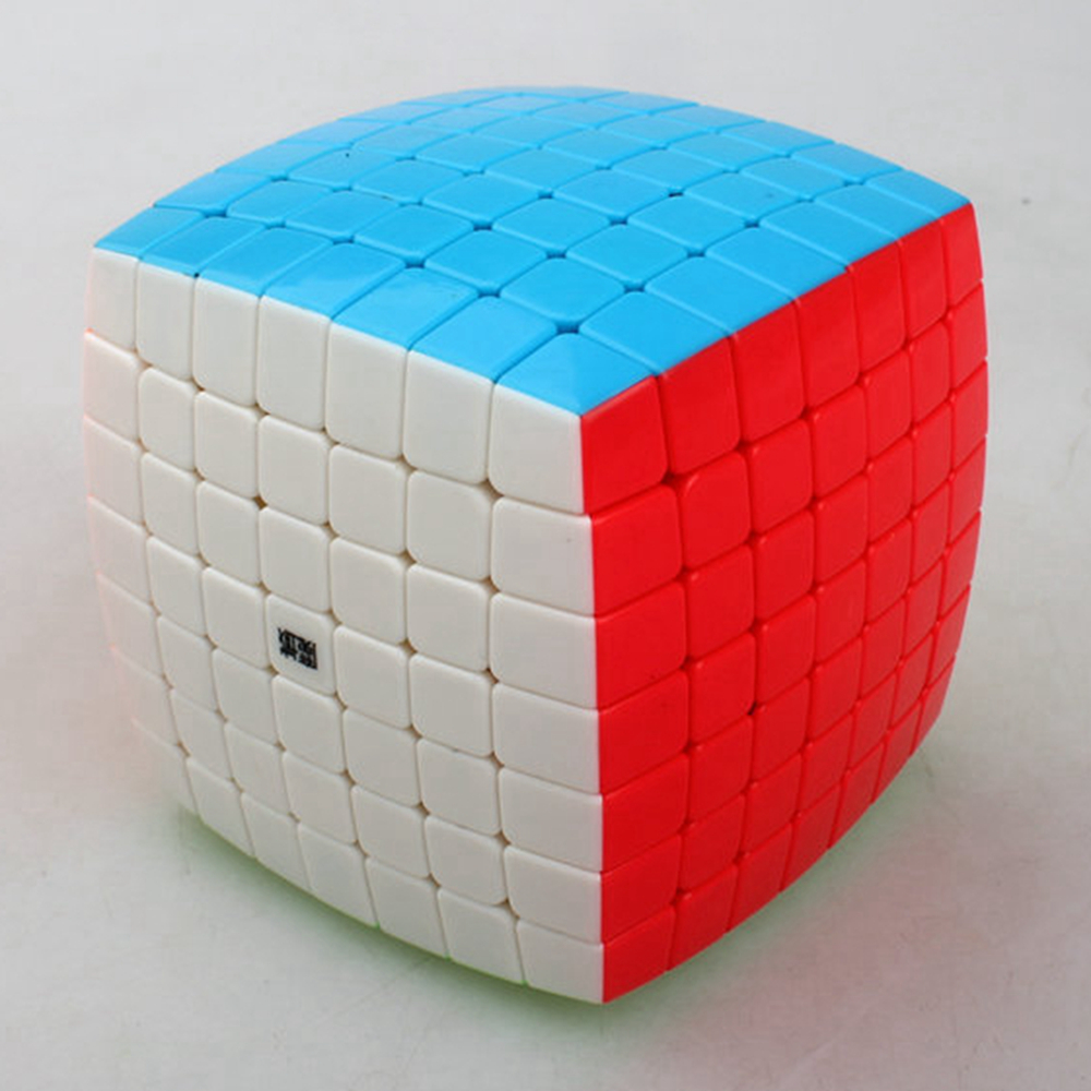 Yongjun Moyu AoFu 7x7x7 Bread-typed Magic Cube Speed Puzzle Educational Cubes Toys for Kids Children Grownups dayan gem vi cube speed puzzle magic cubes educational game toys gift for children kids grownups