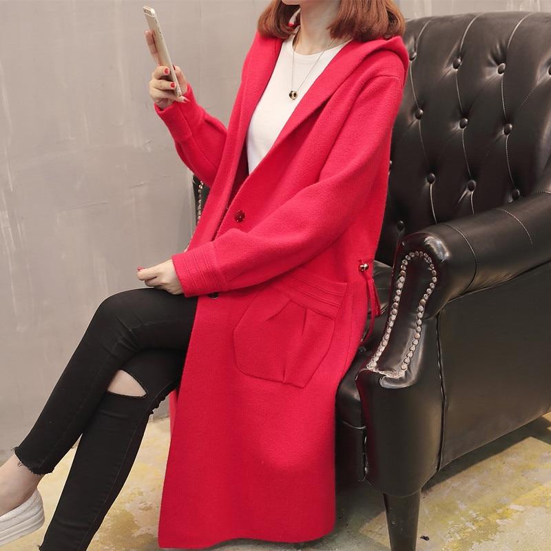 Chart Dame De Nouvelle Sauvage Mode Couleur Vent Version Épais L'automne Chart Femmes Coréenne Manteau See see Dames Chaud Solide aOAtxqq