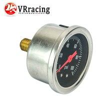 VR RACING-датчик давления топлива жидкость 0-100 psi/0-160psi датчик давления масла датчик топлива черный/белый лицо VR-OG33