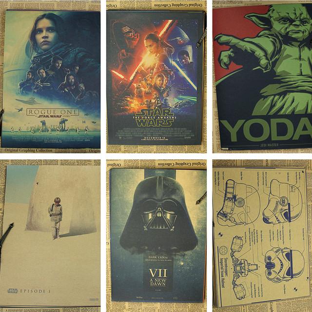 Star Wars Vintage poster