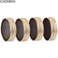 CAENBOO Drone Mavic Air Neutral Density Lens Filter NDPL4 ND8PL ND16/PL ND32PL Set For DJI Mavic Air Camera Filters Accessories