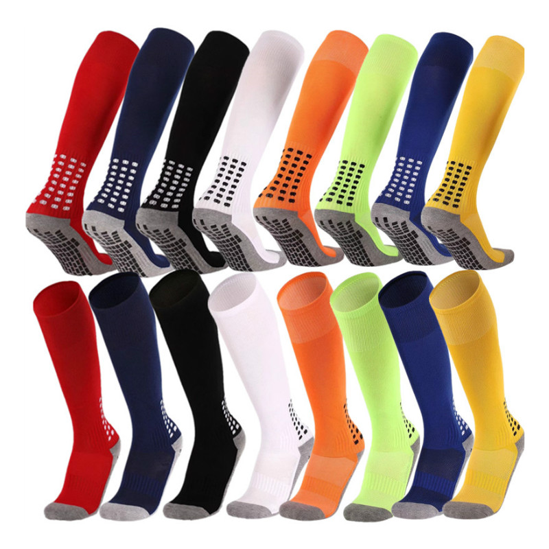 Anti-Slip Breathable  Men Summer Running Cotton and Rubber Socks  Long Football Socks  High Quality Men  Men Women Cycling Socks