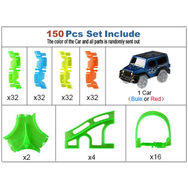 150 PCS 1 Car
