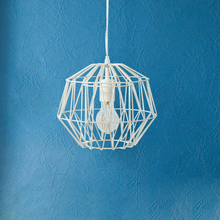 JAXLONG Nordic Restaurant Simple Creative Bird Cage Decor Pendant Lamp Living Room Bedroom Lighting Fixture Loft Lights