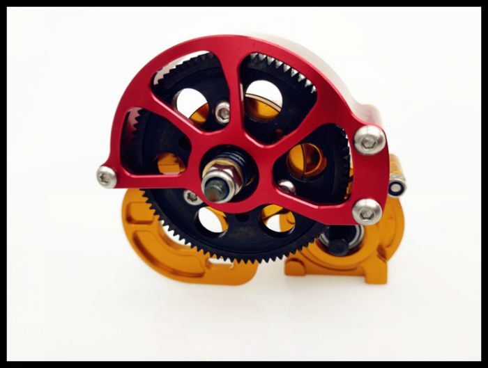 RC Crawler SCX10 All Metal Transmission Center Gearbox for 1 10 Axial SCX10 Gear Box Reverse Parts in Parts Accessories from Toys Hobbies