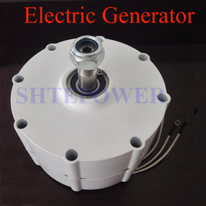 Image 5 - 800W 500r/m Permanent Magnet Generator AC Alternator for Vertical Wind Turbine Generator 24V 48v