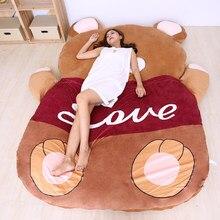 Totoro cama de desenho animado sofá, sofá preguiçoso com desenhos animados para cama