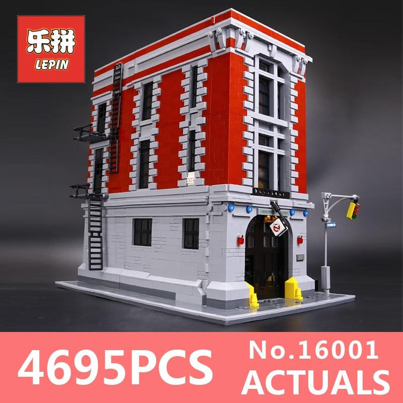 4695Pcs Lepin 16001 City series Firehouse Headquarters houses