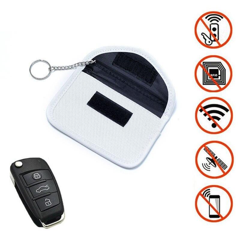 New car supplies RFID mobile phone bag anti-scanning signal interceptor shielding radiation protection key auto parts