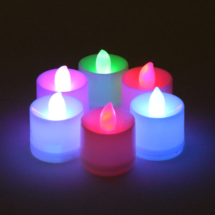 Little Bees  Pcs Floating Led Candles Flameless Waterproof Wedding Birthday Party Christimas Thanksgiving Decoration And