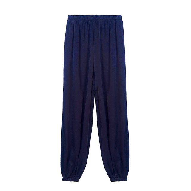 CISULI Pure Silk Stretch Pants For Autumn Kongfu Sports Pants Chinese Silk Factory Direct Sale Clothes China Free Shipping 6