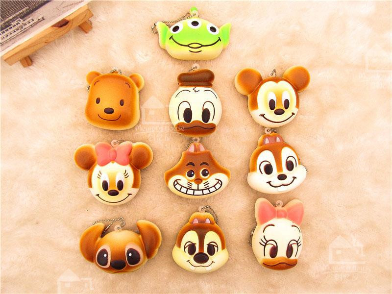 Rare Squishy Manufacturer : new original package rare squishy brand squishy Cartoon phone charm 10style cell phohe Strap ...