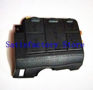 Новая сторона USB HDMI MIC и GPS крышка камеры украшают резиновые запасные части сборки для Nikon D7100 SLR