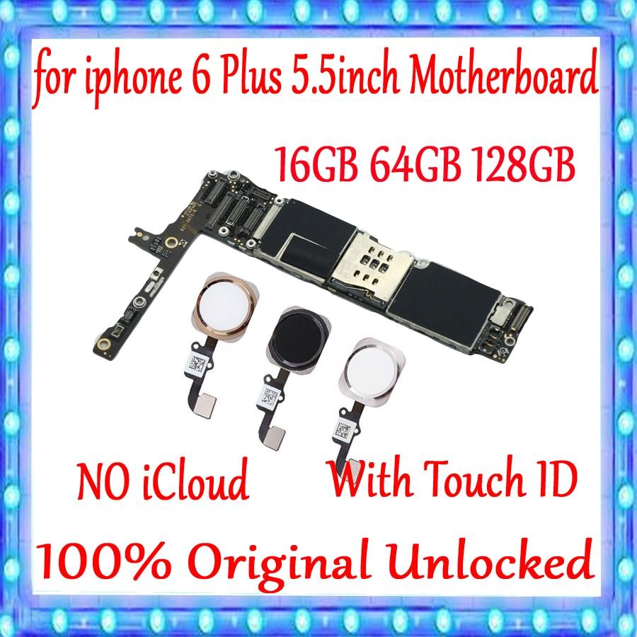 Fabrik entsperrt für iphone 6 Plus 5,5 zoll Motherboard 100% Original für iphone 6 P Mainboard Mit/ohne Touch ID MB platte-in Handy-Antennen aus Handys & Telekommunikation bei AliExpress - 11.11_Doppel-11Tag der Singles 1