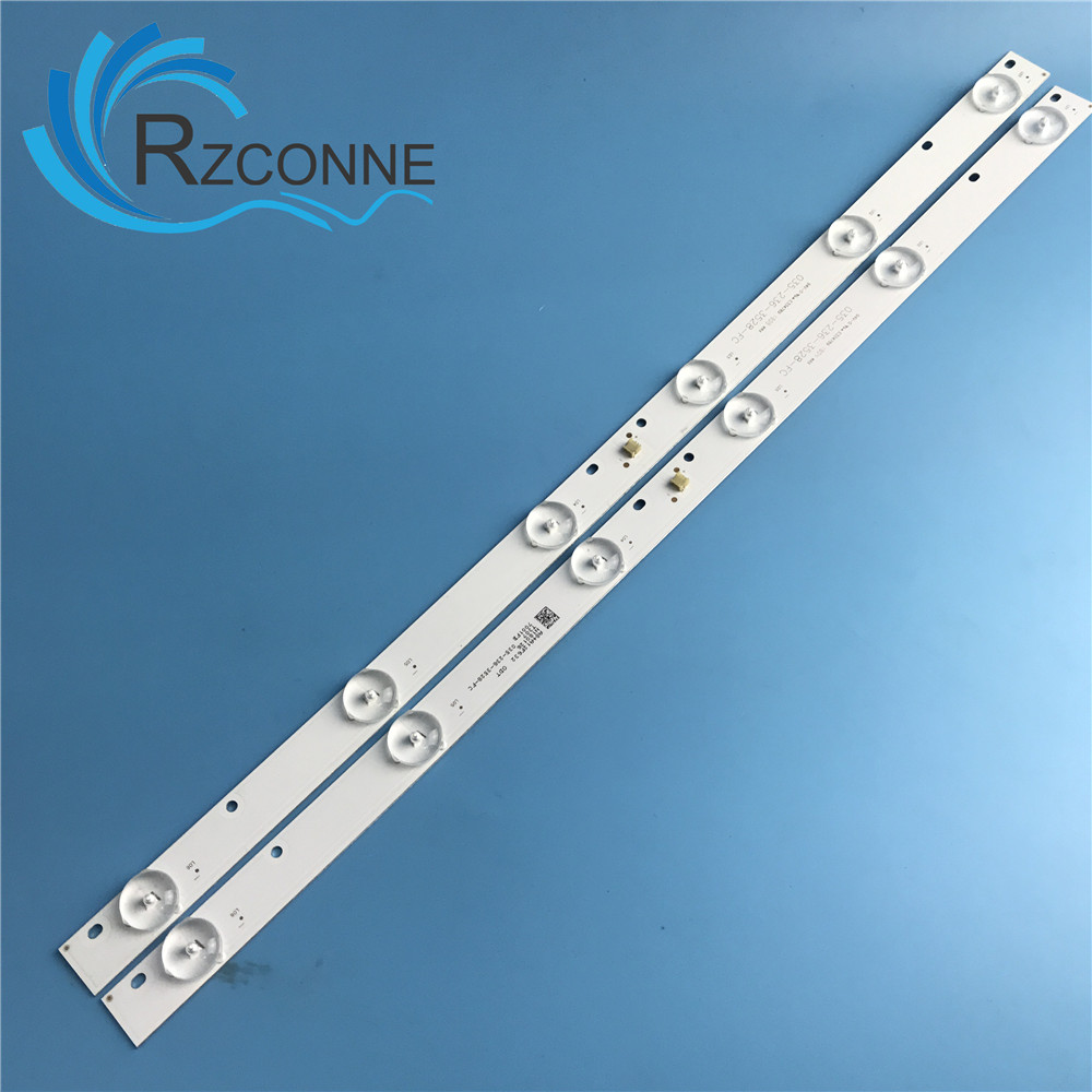 445MM LED Backlight Strip 6 Lamp For 23 24 INCH LCD TV  MONITOR 035-236-3528-fc_V02 3V
