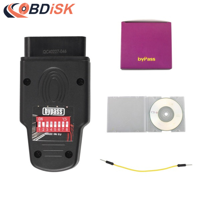 Free Shipping BYPASS ECU Unlock Immobilizer Tool for Audi Skoda Seat VW Immobilizer Tool Key Programmer top rated ktag k tag v6 070 car ecu performance tuning tool ktag v2 13 car programming tool master version dhl free shipping
