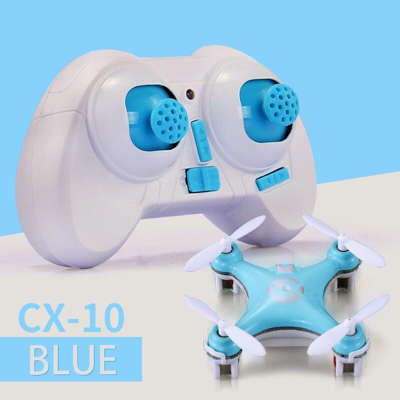 Cheerson CX 10 CX10 Mini Drone 2 4G 4CH 6 Axis LED RC Quadcopter Toy