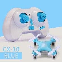 Cheerson cx-10 cx10 мини drone 2.4 г 4ch 6 оси led rc quadcopter игрушки вертолет со светодиодной подсветкой toys for дети